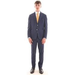 Abbigliamento Uomo Completi Bagnoli Sartoria Napoli ABITO BLU IN LINO Blue