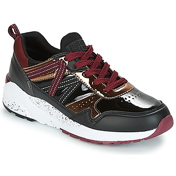 Scarpe Donna Sneakers basse Superdry URBAN STREET RUNNER Nero / Bordeaux