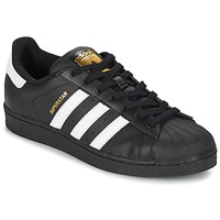 Scarpe Uomo Sneakers basse adidas Originals SUPERSTAR FOUNDATION Bianco / Nero