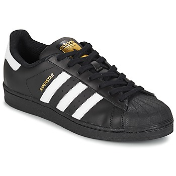 Scarpe Sneakers basse adidas Originals SUPERSTAR FOUNDATION Bianco / Nero