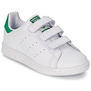 best value 81ae5 a60f1 Scarpe Unisex bambino Sneakers basse adidas Originals STAN SMITH CF C  Bianco   Verde