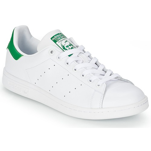 newest 1ac9b b8312 Scarpe Sneakers basse adidas Originals STAN SMITH Bianco   Verde