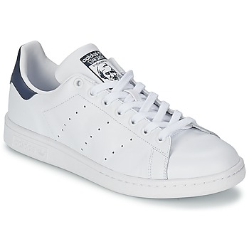 Scarpe Sneakers basse adidas Originals STAN SMITH Bianco / Blu