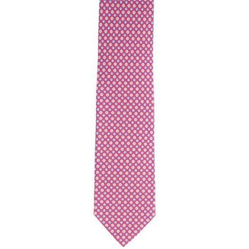 Abbigliamento Uomo Cravatte e accessori Holliday & Brown CRAVATTA IN SETA ROSSA FLOREALE Red