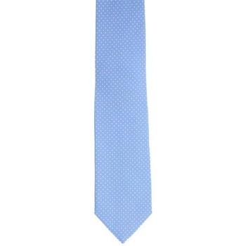 Abbigliamento Uomo Cravatte e accessori Holliday & Brown CRAVATTA IN SETA CELESTE A POIS Blue