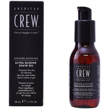 Bellezza Uomo Dopobarba American Crew Shaving Skin Care Ultra Gliding Shave Oil  50 ml