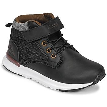 Scarpe Bambino Sneakers alte Kappa TELMO EV Nero