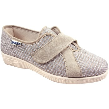 Scarpe Donna Slip on Emanuela 2203 MALAGA ARGENTO PANTOFOLE DONNA MADE IN ITALY SOTTOPIEDE IN ARGENTO