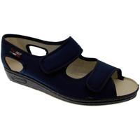 Scarpe Donna Pantofole Gaviga GA180bl blu