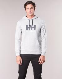 Abbigliamento Uomo Felpe Helly Hansen HH LOGO HOODIE Grigio
