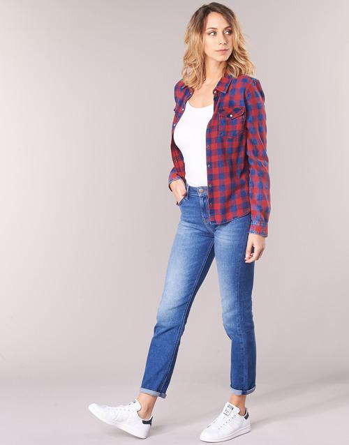 Elly Dritti Dritti Jeans Lee Lee BluMedium Elly Jeans c5L43ARSjq
