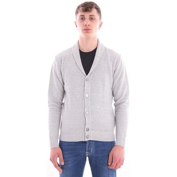 Abbigliamento Uomo Gilet / Cardigan Eleventy CARDIGAN  GRIGIO CON COLLO A SCIALLE Grey