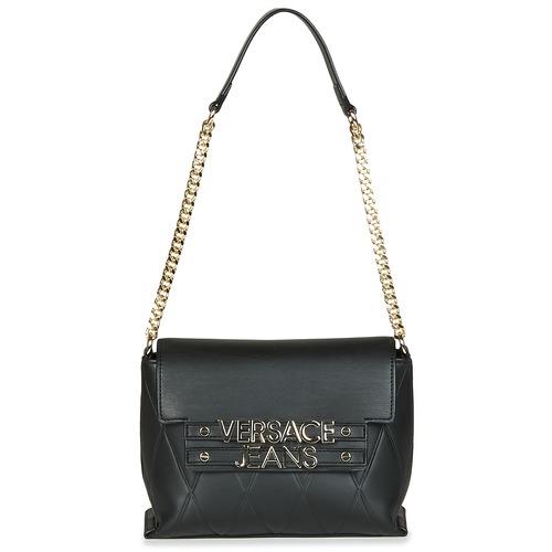 Borse Donna Borse a spalla Versace Jeans Couture PURACE Nero
