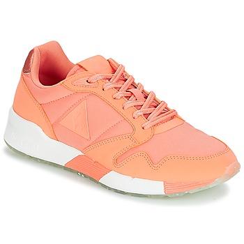 Scarpe Donna Sneakers basse Le Coq Sportif OMEGA X W METALLIC Rosa / Corail