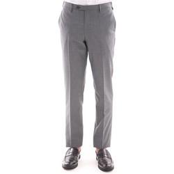 Abbigliamento Uomo Pantaloni Rota PANTALONE  GRIGIO MELANGE IN FRESCO DI LANA Grey