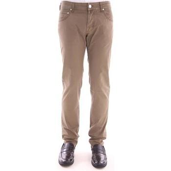 Abbigliamento Uomo Jeans Jacob Cohen JEANS JACOB COHE IN COTONE STRETCH BEIGE SCURO Beige