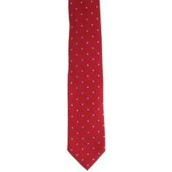Abbigliamento Uomo Cravatte e accessori Holliday & Brown CRAVATTA IN SETA ROSSA A POIS Red