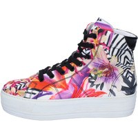 Scarpe Donna Sneakers alte Cult sneakers multicolor tessuto AH873 Multicolore