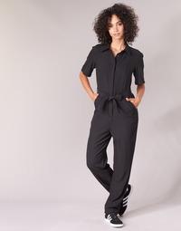 Abbigliamento Donna Tuta jumpsuit / Salopette G-Star Raw BRISTUM DC JUMPSUIT Nero