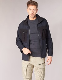 Abbigliamento Uomo Giubbotti G-Star Raw TYPE C UTILITY PM OVERSHIRT Nero