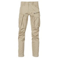 Abbigliamento Uomo Pantalone Cargo G-Star Raw ROVIC ZIP 3D STRAIGHT TAPERED Beige