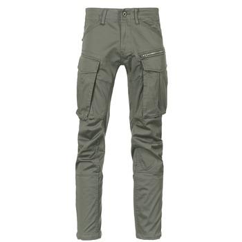 Abbigliamento Uomo Pantalone Cargo G-Star Raw ROVIC ZIP 3D STRAIGHT TAPERED Grigio / Verde