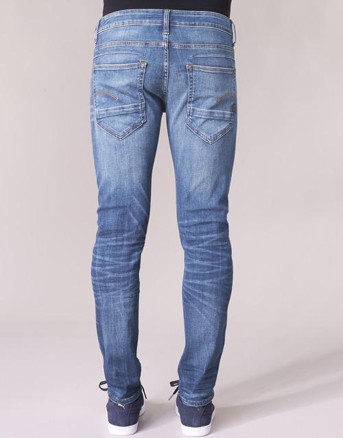 pkt star G Consegna 5 BluMedium Gratuita Raw Uomo staq Indigo D Abbigliamento Slim 6500 Jeans kZXPuOi