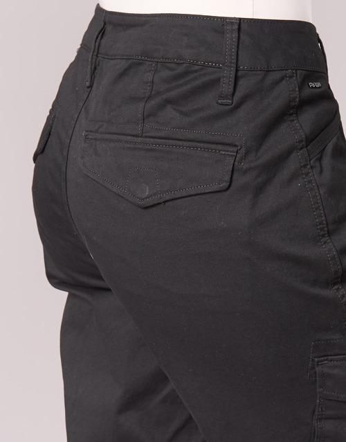 Mid G Cargo star Rovic Pantalone Skinny Raw Nero Donna Consegna 5000 Gratuita Abbigliamento jpqzSULGMV