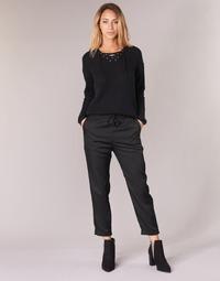 Abbigliamento Donna Pantaloni morbidi / Pantaloni alla zuava G-Star Raw BRONSON JOG Nero