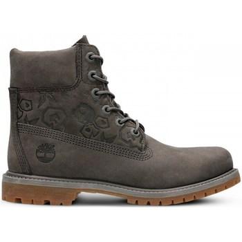 Scarpe Donna Sneakers alte Timberland 6IN Premium Boot W Grigio