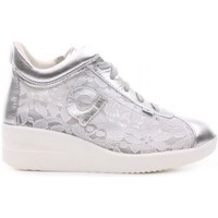 Scarpe Donna Sneakers alte Agile By Ruco Line - A pizzo gelso slv Argento