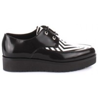 Scarpe Donna Derby Cult - Skid row/low 722 st.leath.brush/synt CLE102107 Nero
