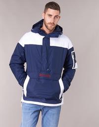 Abbigliamento Uomo Giubbotti Columbia CHALLENGER PULLOVER Marine / Bianco