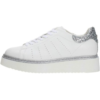 Scarpe Donna Sneakers basse Cult CLE103466 Sneakers Donna WHITE/SILVER WHITE/SILVER