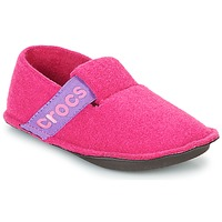 Scarpe Bambina Pantofole Crocs CLASSIC SLIPPER K Rosa