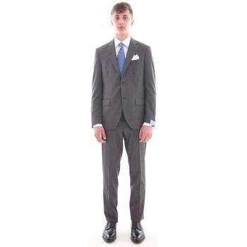 Abbigliamento Uomo Completi Cantarelli ABITO  GRIGIO IN TESSUTO PUNTA A SPILLO Grey