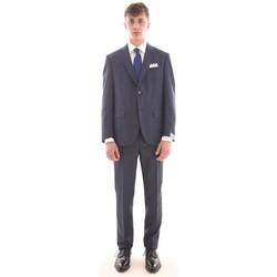 Abbigliamento Uomo Completi Cantarelli ABITO  BLU IN TESSUTO PUNTA A SPILLO Blue