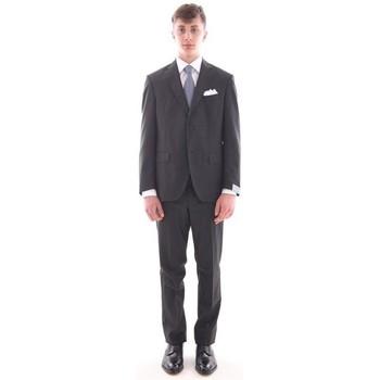 Abbigliamento Uomo Completi Cantarelli ABITO  GRIGIO SCURO IN PURA LANA VERGINE Grey