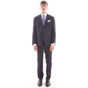 Abbigliamento Uomo Completi Cantarelli ABITO  BLU IN PURA LANA VERGINE Blue