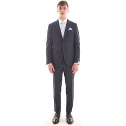 Abbigliamento Uomo Completi Cantarelli ABITO  BLU IN PRINCIPE DI GALLES Blue