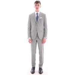 Abbigliamento Uomo Completi Cantarelli ABITO  GRIGIO IN PRINCIPE DI GALLES Grey