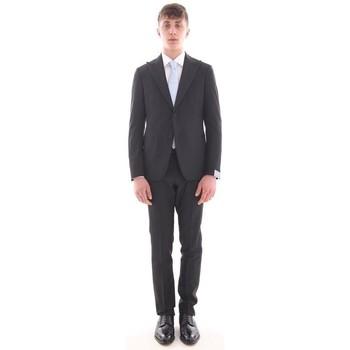 Abbigliamento Uomo Completi Cantarelli SMOKING  NERO, REVER A LANCIA Black