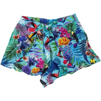 Abbigliamento Donna Shorts / Bermuda Desigual SHORTS DONNA SHORT FRANCINE 18SWMW15 Verde