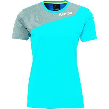 Abbigliamento Donna T-shirt maniche corte Kempa Maillot femme  Core 2.0 bleu flash/gris