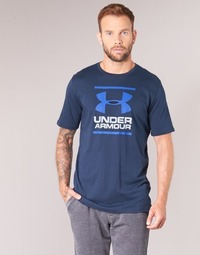Abbigliamento Uomo T-shirt maniche corte Under Armour UA GL FOUNDATION SS T Marine