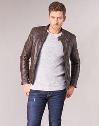 Abbigliamento Uomo Giacca in cuoio / simil cuoio Oakwood AGENCY Marrone