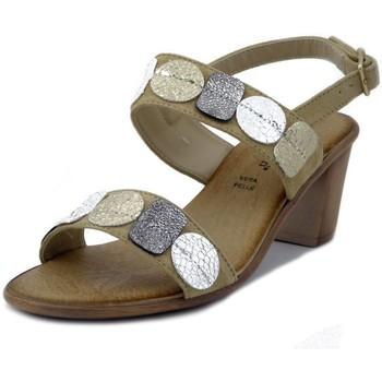 Scarpe Donna Sandali Mercante Di Fiori Sandalo beige
