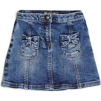 Abbigliamento Bambina Gonne Guess # Baby K81D02D2XX0 Gonna Bambina Blu Blu