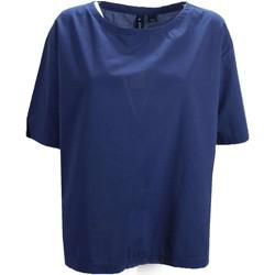 Abbigliamento Donna T-shirt maniche corte Woolrich WWCAM0659 T-shirt Donna Blu Blu
