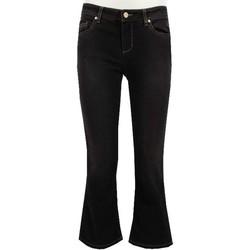 Abbigliamento Donna Jeans bootcut Manila Grace J398D1 Pantalone Donna Nero Nero